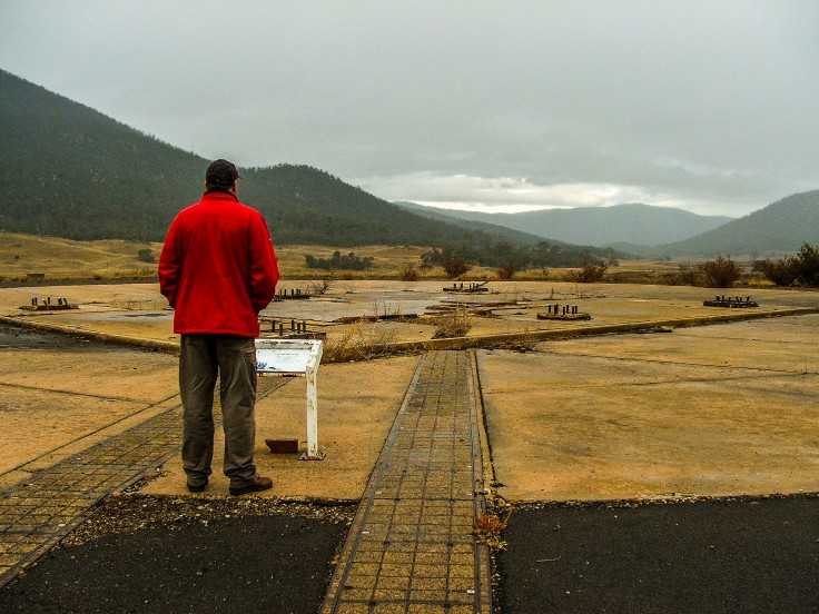 Orroral Valley Tracking Station - site of 26 metre antenna