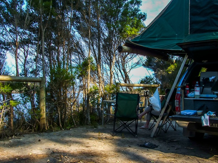 croajingolong np mueller inlet camp