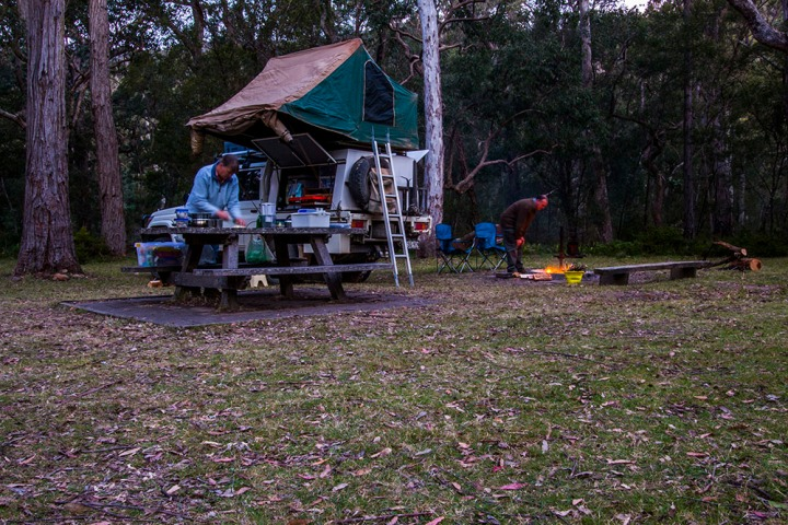 wadbilliga np lake creek camp