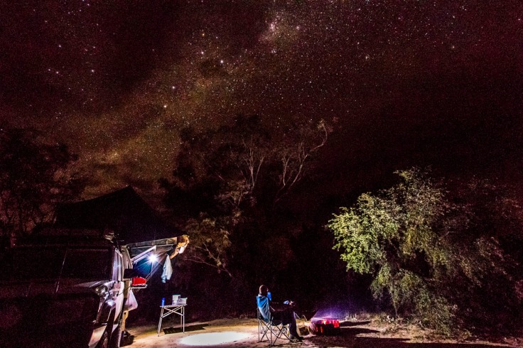 The outback night time skies are stunning