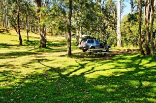 Cuppa at Peach Trees campground