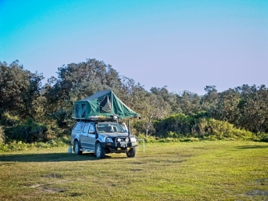 Choice of open grassy campsites