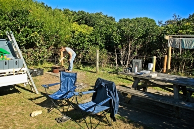 The camping areas are nice and private