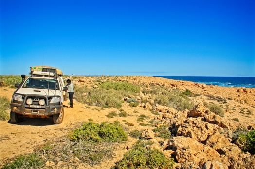 There are plenty of spots for a cuppa on the way to Quobba Station