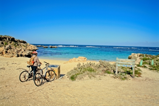 Pedal power is the only way to truly see the island