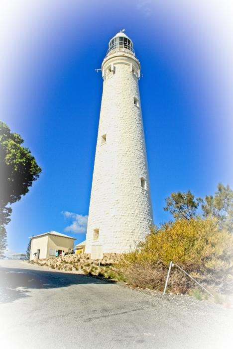 The impressive Wadjemup Lighthouse