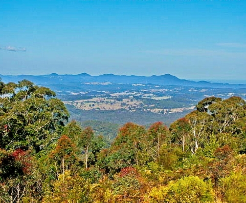 Amazing views from Blue Knob Lookout