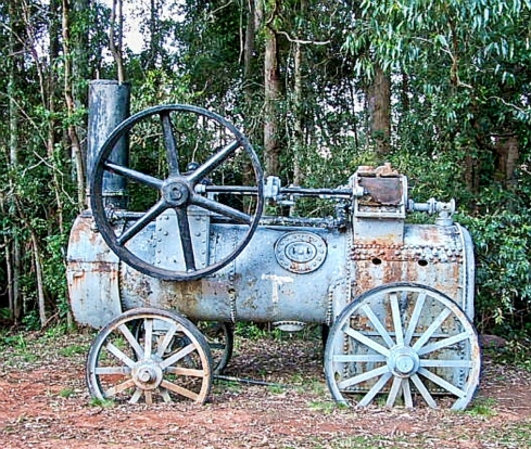 Logging relics at Dingo tops