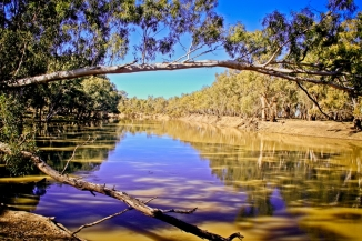 The mighty Murray River is always a sight to behold