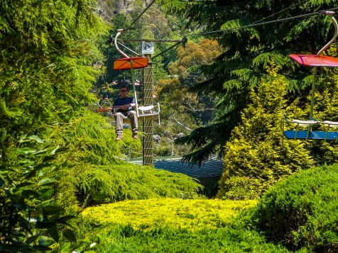 The iconic Cataract Gorge chairlift